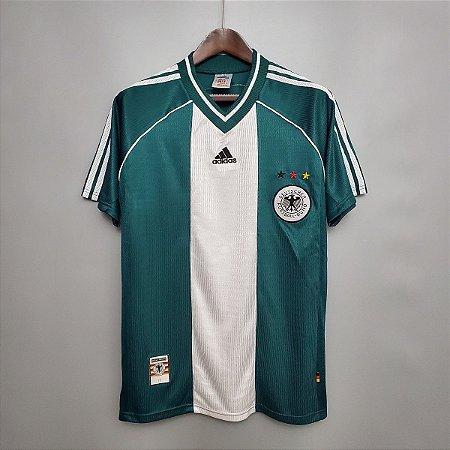 Camisa Alemanha 1998 Copa do Mundo (Away-Uniforme 2)