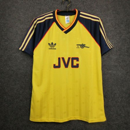Camisa Arsenal 1988-1989 (Away-Uniforme 2)
