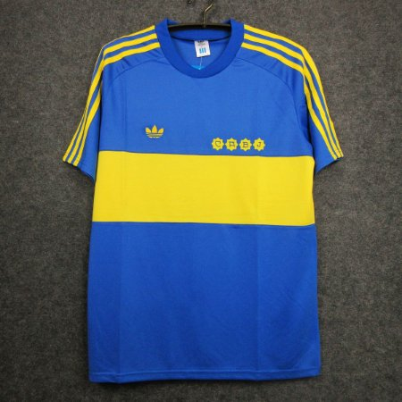 Camisa Boca Juniors 1981-1982 (Home-Uniforme 1)