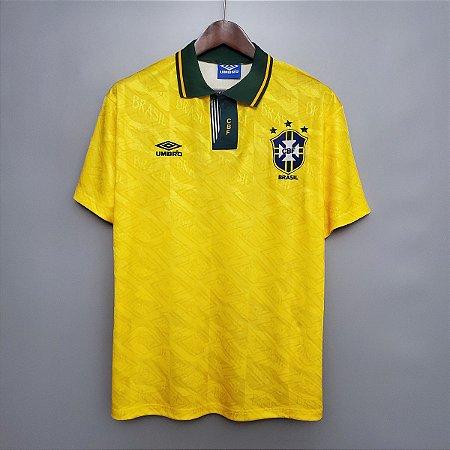 Camisa Brasil 1991-1993  (Home-Uniforme 1)