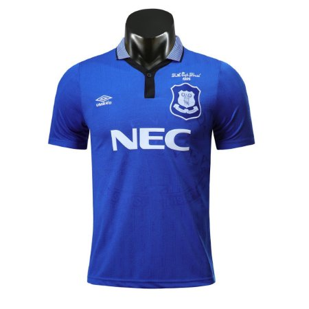Camisa Everton 1995-1996 F.A. Cup Final