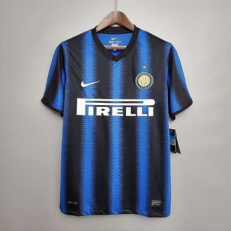 Camisa Internazionale 2010-2011 (Home-Uniforme 1)