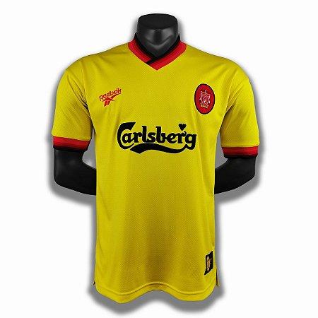 Camisa Liverpool 1997-1998 (Away-Uniforme 2)