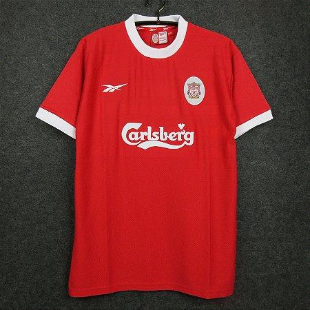 Camisa Liverpool 1998-1999 (Home-Uniforme 1)
