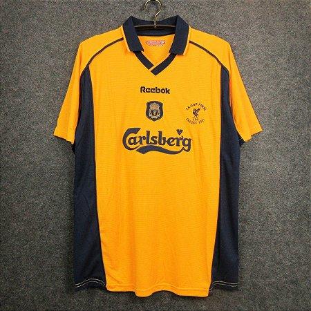 Camisa Liverpool 2000-2001 (Away-Uniforme 2)