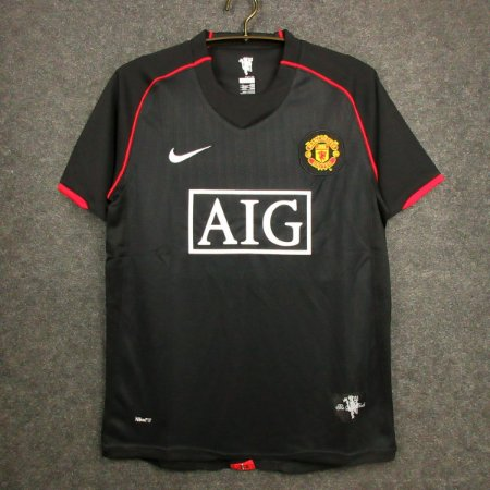 Camisa Manchester United 2007-2008 (Away-Uniforme 2)