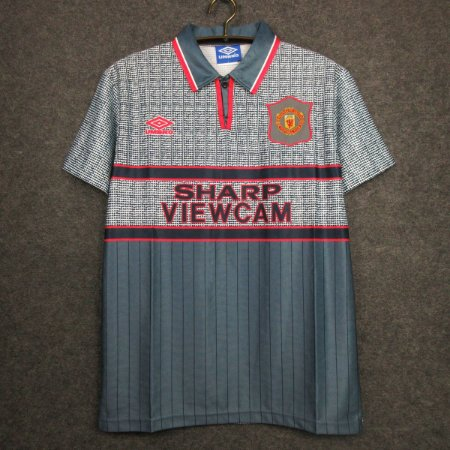 Camisa Manchester United 1995-1996 (Away-Uniforme 2)