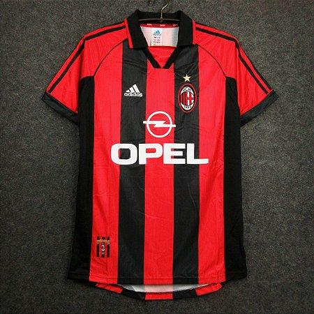 Camisa Milan 1998-1999 (Home-Uniforme 1)