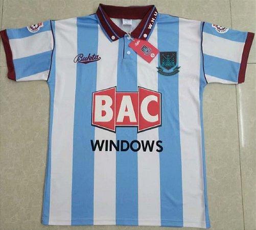 Camisa West Ham  1991-1992 (Away-Uniforme 2)