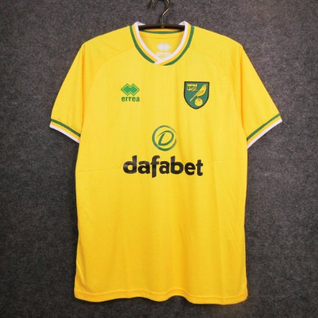 Camisa Norwich City  2020-21 (Home-Uniforme 1)