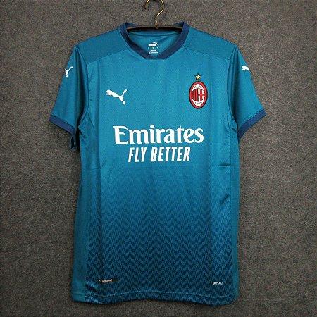 Camisa Milan 2020-21 (Third-Uniforme 3)