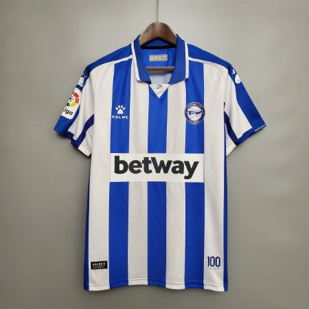 Camisa Alavés 2020-21 (Home-Uniforme 1)