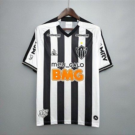Camisa Atlético-MG 2020-21 (Uniforme 1) -  (com todos patrocínios)