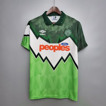 Camisa Celtic 1991-1992 (Away-Uniforme 2)