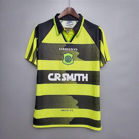 Camisa Celtic 1996-1997 (Away-Uniforme 2)