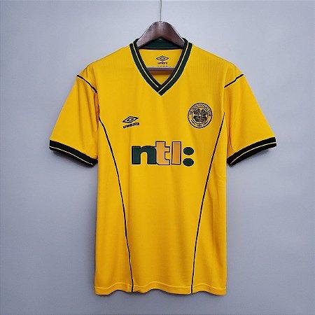 Camisa Celtic 2001-2003 (Away-Uniforme 2)
