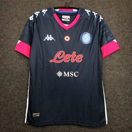 Camisa Napoli 2020-21 (Third-Uniforme 3)