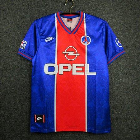 "Camisa Paris Saint Germain ""PSG"" 1995-1996 (Home-Uniforme 1)"