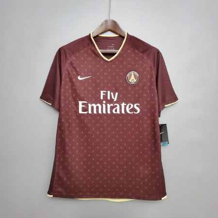 "Camisa Paris Saint Germain ""PSG"" 2006-2007 (Away-Uniforme 2)"