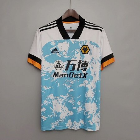 """Camisa Wolverhampton """"Wolves"""" 2020-21 (Away-Uniforme 2)"""