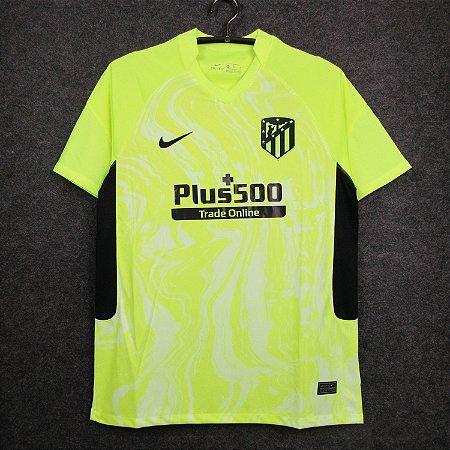 Camisa Atlético de Madrid 2020-21 (Third-Uniforme 3)