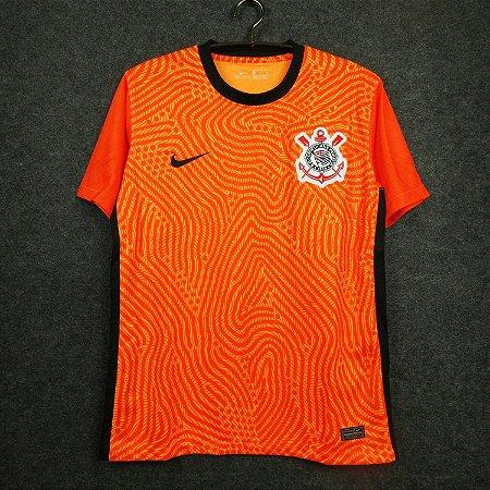 Camisa Corinthians 2020-21 (goleiro-laranja)