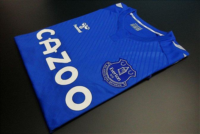 Camisa Everton 2020-21 (Home-Uniforme 1) - Modelo Jogador