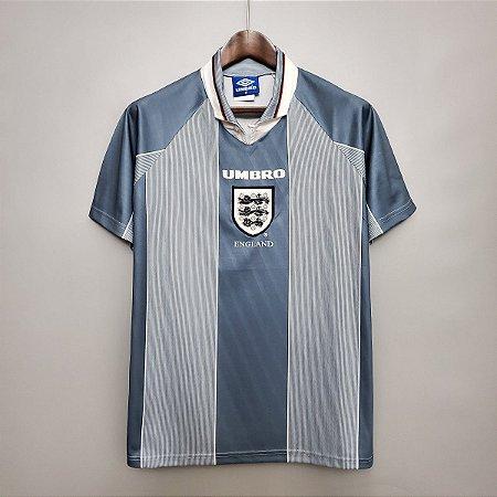Camisa Inglaterra 1996 (Away-Uniforme 2) - Eurocopa