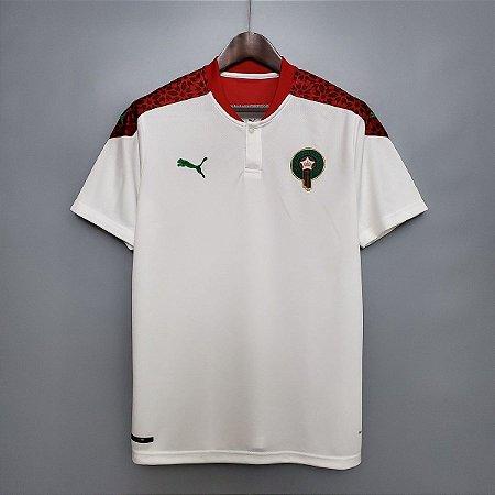 Camisa Marrocos 2020-21 (Away-Uniforme 2)