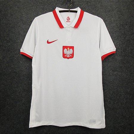 Camisa Polônia 2020-21 (Home-Uniforme 1)
