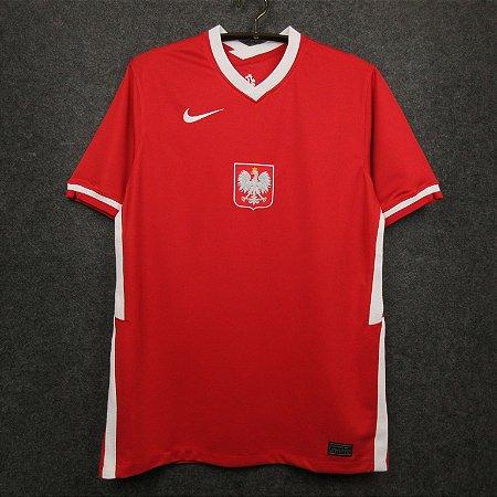 Camisa Polônia 2020-21 (Away-Uniforme 2)