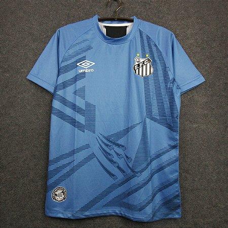 Camisa Santos 2020-21 (goleiro - azul)