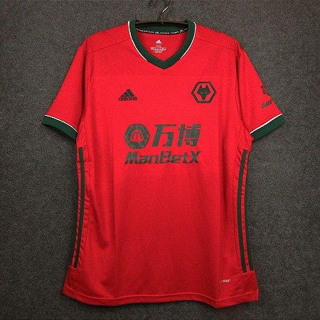 """Camisa Wolverhampton """"Wolves"""" 2020-21 (Third-Uniforme 3)"""