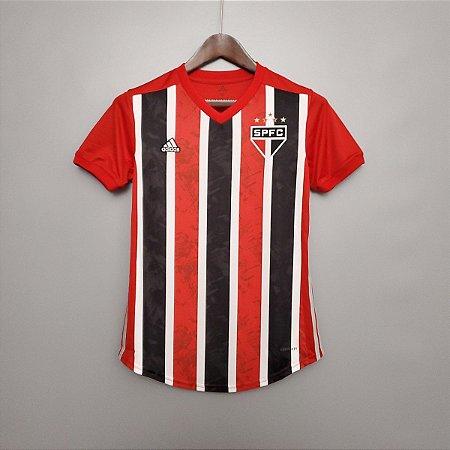 Camisa São Paulo 2020-21  (Away-Uniforme 2)  - Feminina