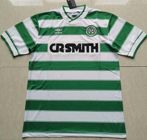 Camisa Celtic 1985-86 (Home-Uniforme 1)
