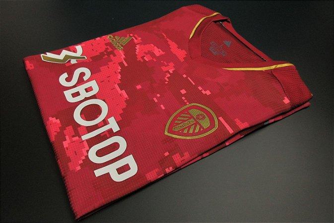 Camisa Leeds United 2020-21 Third-Uniforme 3) - Modelo Jogador
