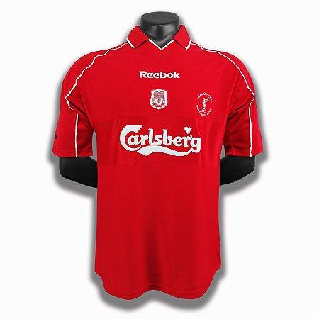 Camisa Liverpool 2000-2001 (Home-Uniforme 1)