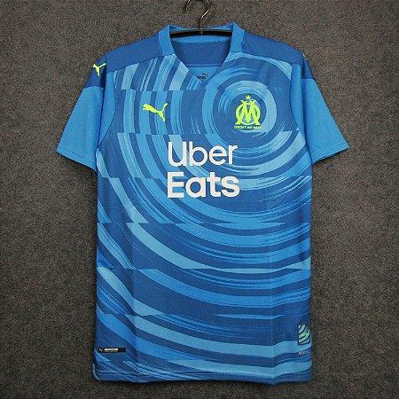 Camisa Olympique Marseille 2020-21 (Third-Uniforme 3) - Modelo Torcedor