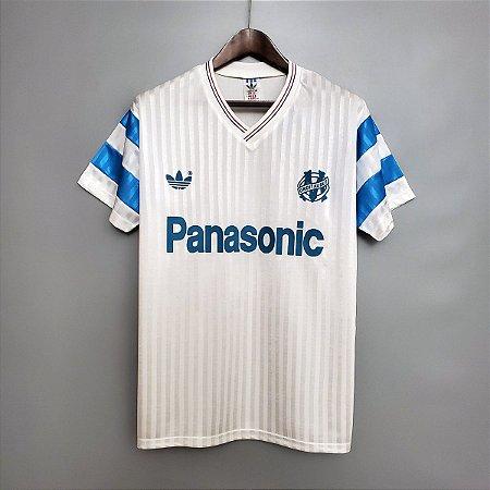 Camisa Olympique Marseille 1990 (Home-Uniforme 1)