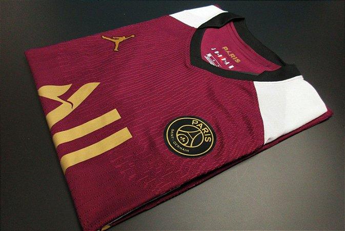 "Camisa Paris Saint Germain ""PSG"" 2020-21 (Third-Uniforme 3) - Modelo Jogador"