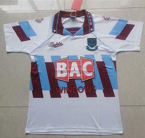 Camisa West Ham  1991-1992 (Third-Uniforme 3)