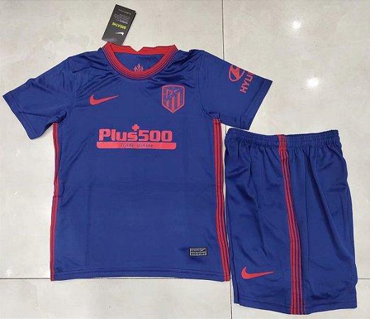 Conjunto Infantil (Camisa + Shorts) Atlético de Madrid 2020-21 (Away-Uniforme 2)