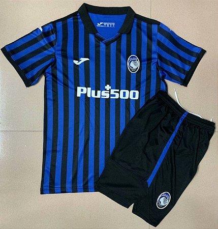 Conjunto Infantil (Camisa + Shorts) Atalanta 2020-2021 (Home-Uniforme 1)