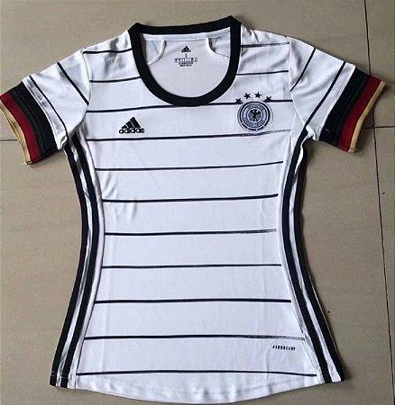 Camisa Alemanha 2020-21  (Home-Uniforme 1) - Feminina