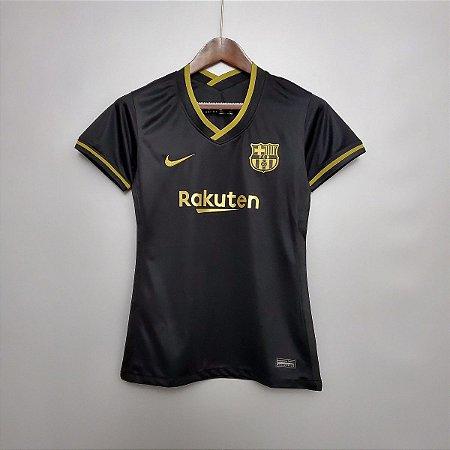 Camisa Barcelona 2020-21  (Away-Uniforme 2)  - Feminina