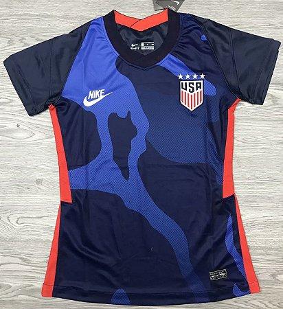 Camisa EUA 2020-21  (Away-Uniforme 2)  - Feminina