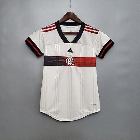 Camisa Flamengo 2020-21  (Away-Uniforme 2)  - Feminina
