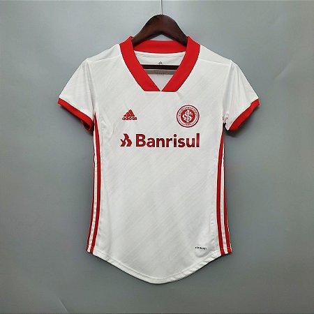 Camisa Inter-RS 2020-21  (Away-Uniforme 2)  - Feminina