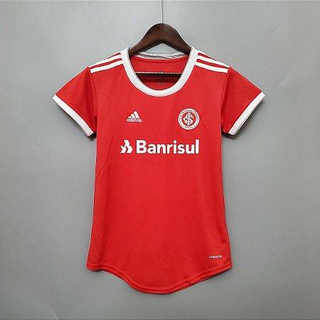 Camisa Inter-RS 2020-21  (Home-Uniforme 1)  - Feminina
