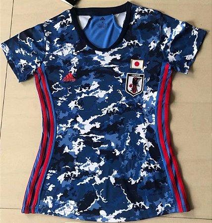 Camisa Japão 2020-21  (Home-Uniforme 1)  - Feminina
